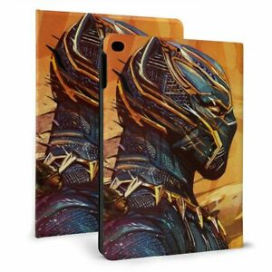 Black Panther Auto Sleep/Wake Smart Stand Case Cover for iPad 7th Air 3 Mini 4/5