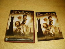 THE LORD OF THE RINGS : THE TWO TOWERS action 2002 = 2 DVD as NEW adventure R4