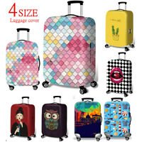 Travel Luggage Cover Protector Elastic Suitcase Bag Dust-proof Anti Scratch S-XL