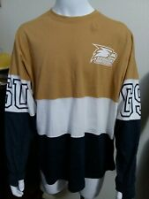 Georgia Southern University Eagles GSU Pressbox Long Sleeve Medium Sport Shirt