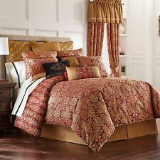 Waterford ALHAMBRA 4P Queen Comforter Set Shams bedskirt