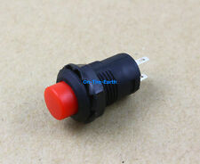 20 Pieces 250V 1.5A Round Self Locking Light Touch Micro Push Button Switch