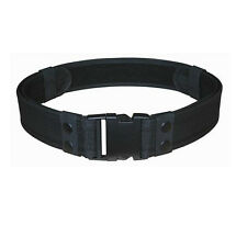 POLICE Black DUTY Tactical Utility Belt Up To Size 46