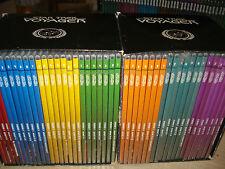 OPERA COMPLETA 2 BOX COFANETTI + 46 DVD STAR TREK VOYAGER LE 7 STAGIONI