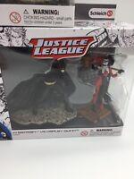 DC Comics Justice League Batman vs Harley Quinn #11 Figure Set Schleich New