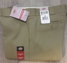 New Dickies Womens Work Pants sz 6 R Khaki Straight Leg 774 Original Fit C53