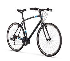 "Raleigh Cadent 1 Urban Fitness Bike, 19"" /Lg Frame, Black, 19"" / Large"