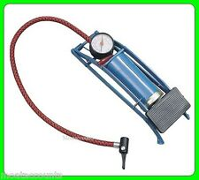 Single Barrel Foot Pump [FP101] Suitable for Cars Bikes Trailers etc.