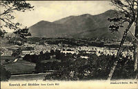 Keswick Skiddaw England Cumbria Postkarte AK ~1910 Nationalpark Lake District