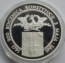 200000 ZL ZLOTYCH POLAND POLEN 1991 200th ann. Constitution of May 3