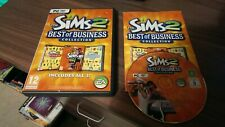 THE SIMS 2 best of business collection 3 games  - PC CD ROM/ WINDOWS - COMPLETE