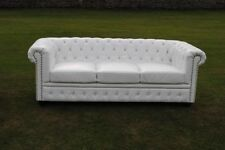 Chesterfield Faux Leather Up to 3 Seat Sofas