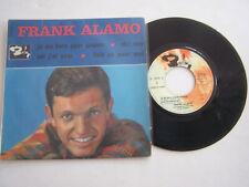 EP 45 T VINYLE , FRANK ALAMO , JE ME BATS POUR GAGNER . VG / EX .