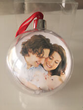 PERSONALISED CHRISTMAS TREE BALL BAUBLE DECORATION HANGING BRAND NEW GIFT XMAS
