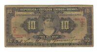 Brasilien  10 Mil Reis 1927 P103 / R 184 - Brazil Banknote