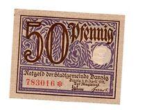 Danzig, 50 Pfennige 15.4. 1919