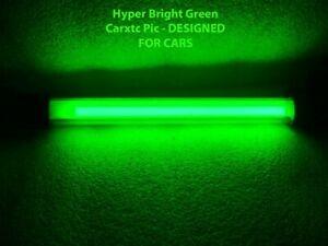 10 Inch GREEN Car Neons : Glow in Street Neon Car Lights GRN-10
