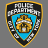 NYPD Police Vinyl Sticker Car Truck Window Decal New York Police Department