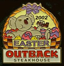 A6187 Outback Steakhouse Easter 2002 hat lapel pin