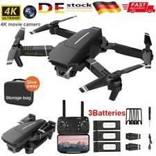 Mini Faltbar WIFI FPV Drohne mit 4K 1080P HD Kamera Selfie Quadrocopter RC Drone