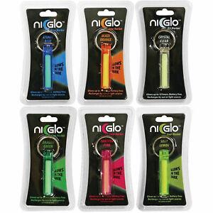 McNett NI-GLO Kit Gear Non-Radioactive Glow Military Marker Light Keyring Clip