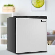 New listing Zokop 1.1 cu.ft. Compact Single Door Mini Fridge Upright Freezer Stainless Steel