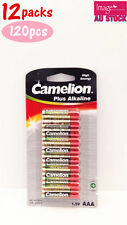 12x Pack of 10pcs Camelion AAA Batteries Plus Alkaline 1.5V High Energy Bulk Lot
