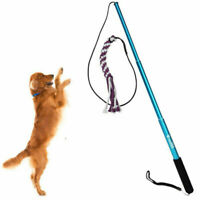 Pet Dog Puppy Cats Stick Toy Interactive Toys Jumping Training Funny Activity