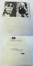 1966 NBC press photo ~ LAINIE KAZAN, JUDY ROLIN ~ The Dean Martin Summer Show