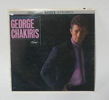 GEORGE CHAKIRIS West Side Story's Dynamic - Capitol ST 1750 Stereo LP Vinyl