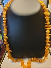 Genuine Baltic Amber Bead Necklace - 42 grmes