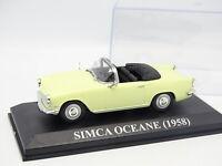 Prensa Ixo 1/43 - Simca Oceane 1958