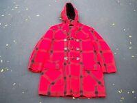 Vintage JcPenney Mackinaw WOOL Winter Hunting Birding Jacket Coat Men's Size 44