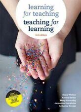 NEW Learning for Teaching, Teaching for Learning with Online Study Tools 12 mont