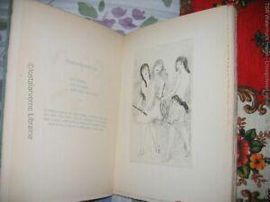 """""""Ten Girls In a Meadow"""" Jean-richard Bloch Ill. by Marie LAURENCIN 1/800 1926"""
