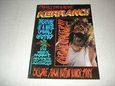 WHITESNAKE on cover Kerrang metal magazine 1987 Warlock DORO Alice Cooper GYPSY