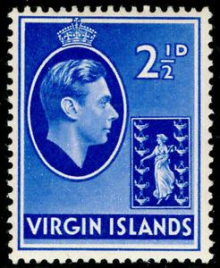 BRITISH VIRGIN ISLANDS SG114a, 2½d ultramarine, LH MINT. ORDINARY