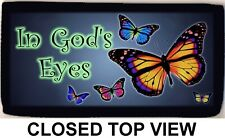 In God's Eyes Butterfly Butterflies Checkbook Cover Credit Card Id Holder New