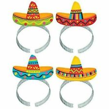 Amscan 310033 Fiesta Sombrero Headband 1 Multi-colour