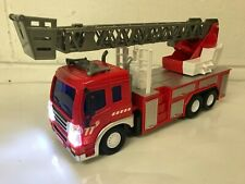 FIRE ENGINE RADIO REMOTE CONTROL TRUCK CAR LED LIGHTS BOXED UK STOCK