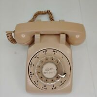 PINK ROTARY DIAL DESK TELEPHONE PHONE STROMBERG CARLSON WESTERN ELECTRIC 1981