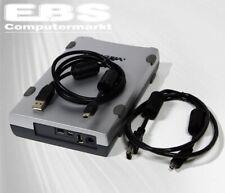 """Medion 3,5"""" IDE Externe Gehäuse MD90011 USB 2.0 + IEEE1394 Firewire ohne NT Neu"""