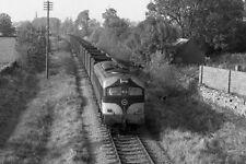PHOTO  1985 CIE 001 CLASS LOCO TRAIN 013 LEAVING TUAM A CIE 001 CLASS LOCOMOTIVE