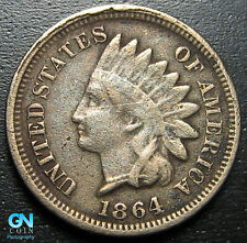 1864 CN Indian Head Cent Penny  --  MAKE US AN OFFER!  #P3941