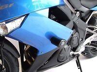 R&G RACING Aero Crash Protectors, ER6-F 2009-2011 *BLACK*