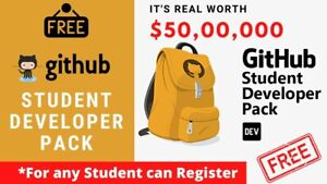 All Benefits GitHub Student Developer Pack - Fast Delivery Email