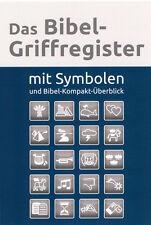 Das Bibel-Griffregister mit Symbolen und Bibel Kompakt �œberblick (*NEU*)