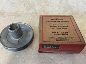 NOS 1933 1934 Ford 4 Cylinder Crankshaft Pulley Model B