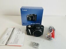 Canon PowerShot SX130 IS 12.1MP 12x Zoom Digital Camera - Black