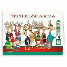 Time for Work! Funny Christmas Card - 18 Cards & Envelopes -  20050